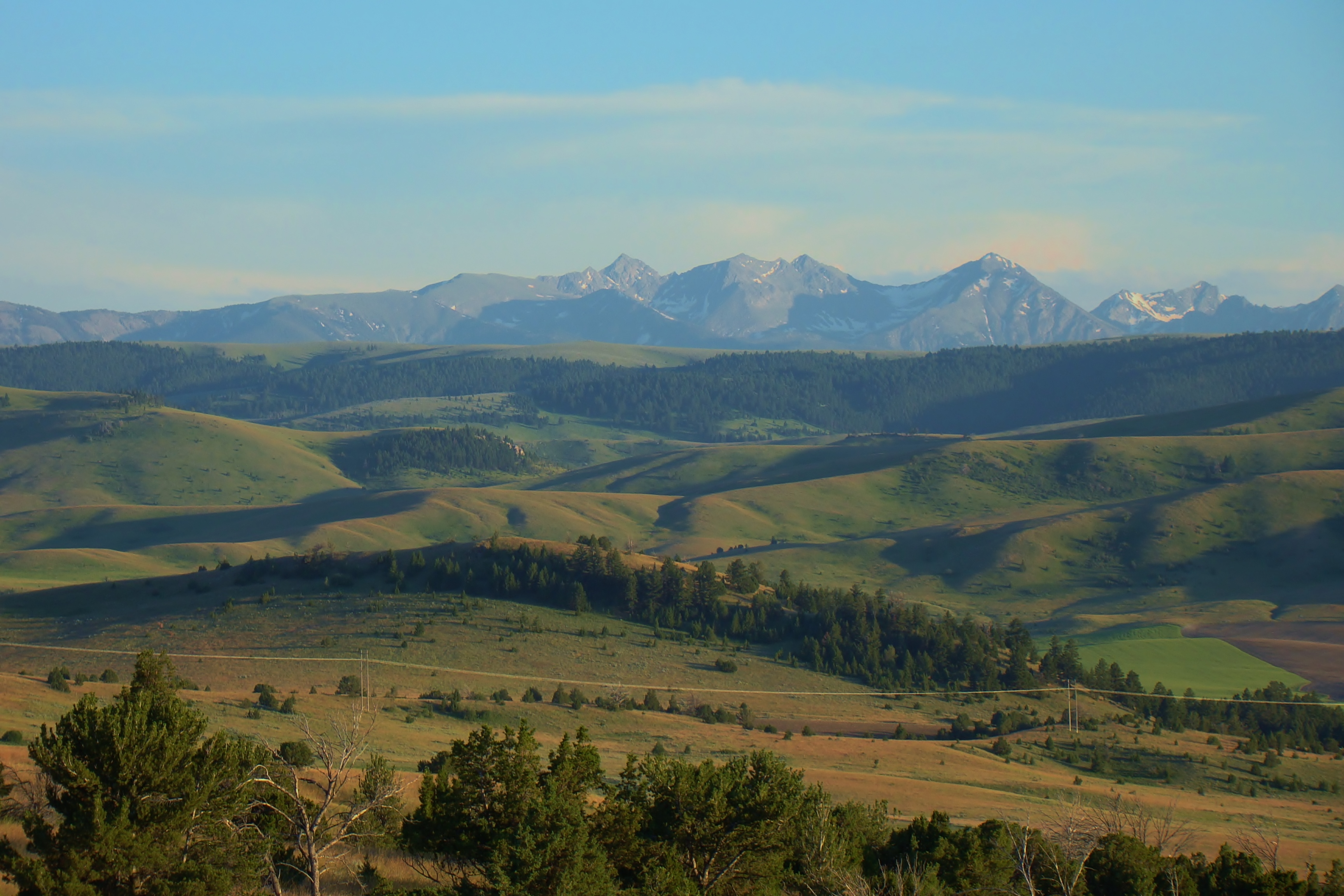 Montana Land for Sale with Impressive Views of the Bridger, Spanish Peaks, and Tobacco Root Mountain Ranges