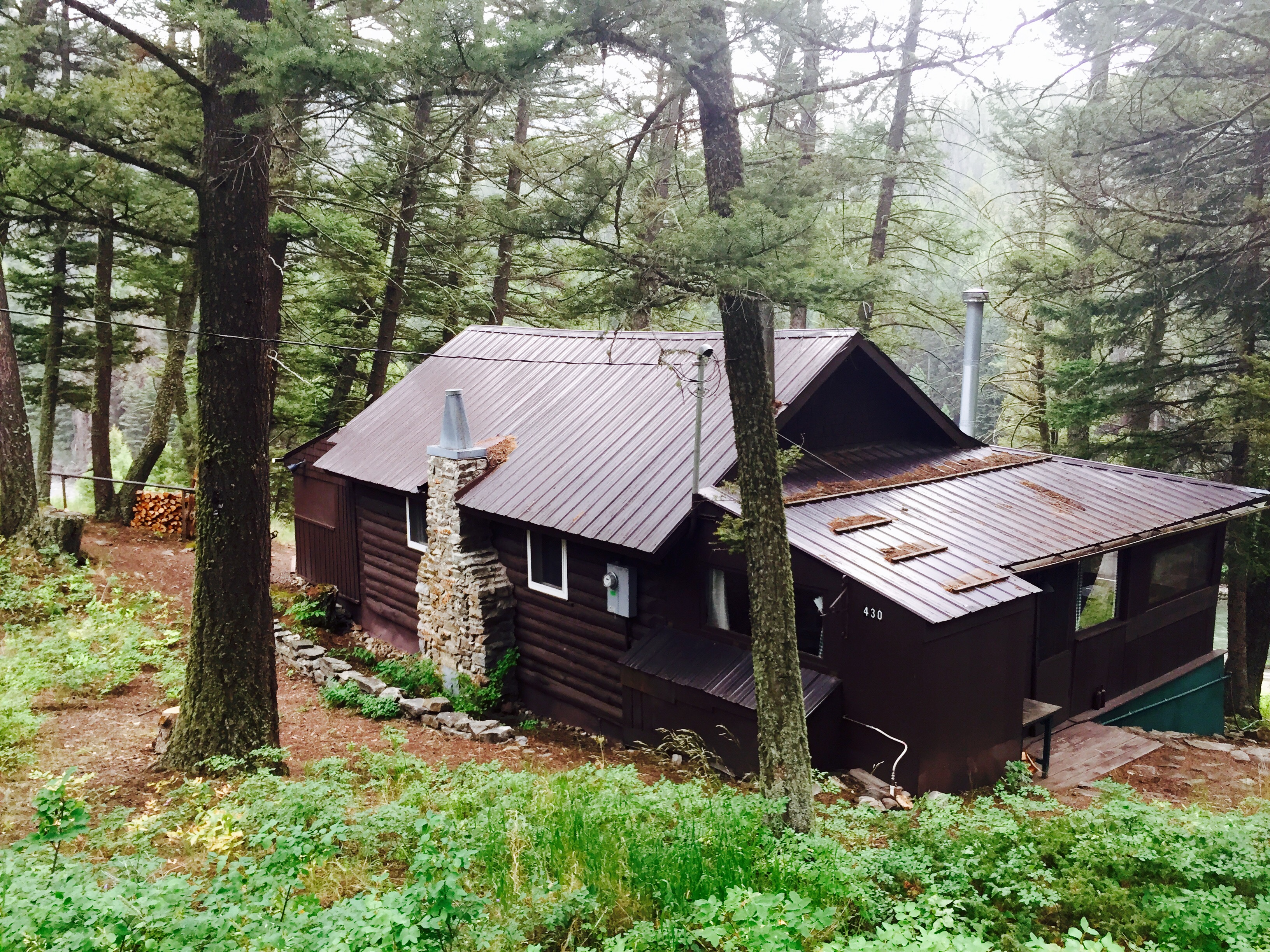 Forest Service Cabin for Sale in Gallatin Canyon