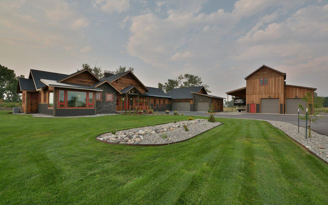 Quintessential Montana Rustic Home | Bozeman Montana Real Estate